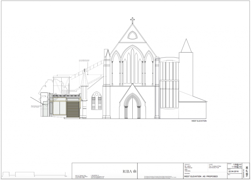 Planning permision granted Kew